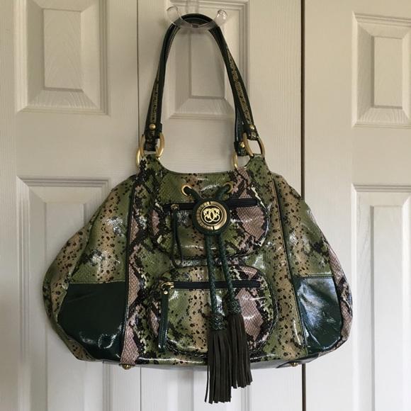 ☘️Original by Sharif Large Snakeskin Shoulder Bag